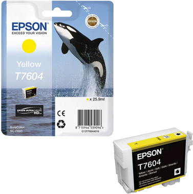 Epson 760 Yellow Inkjet Cartridge