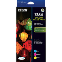 Epson 786XL Tri-Colour Ink Cartridges - Multi Pack