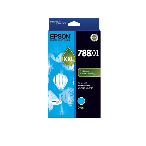 Epson 788XXL Cyan Ink Cartridge (Original)