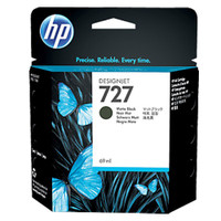 HP 727 (C1Q11A) Matte Black Ink Cartridge - 69ml