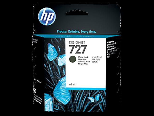 HP 727 Matte Black Ink Cartridge (Original)
