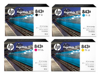 HP No. 843B PageWide Bundle Pack