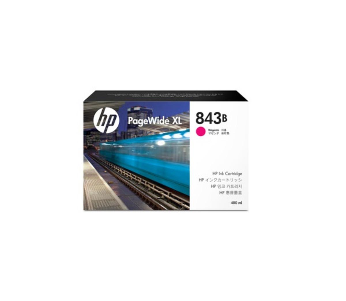HP 843B (C1Q63A) Magenta PageWide Inkjet Cartridge