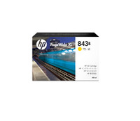 HP 843B (C1Q64A) Yellow PageWide Inkjet Cartridge