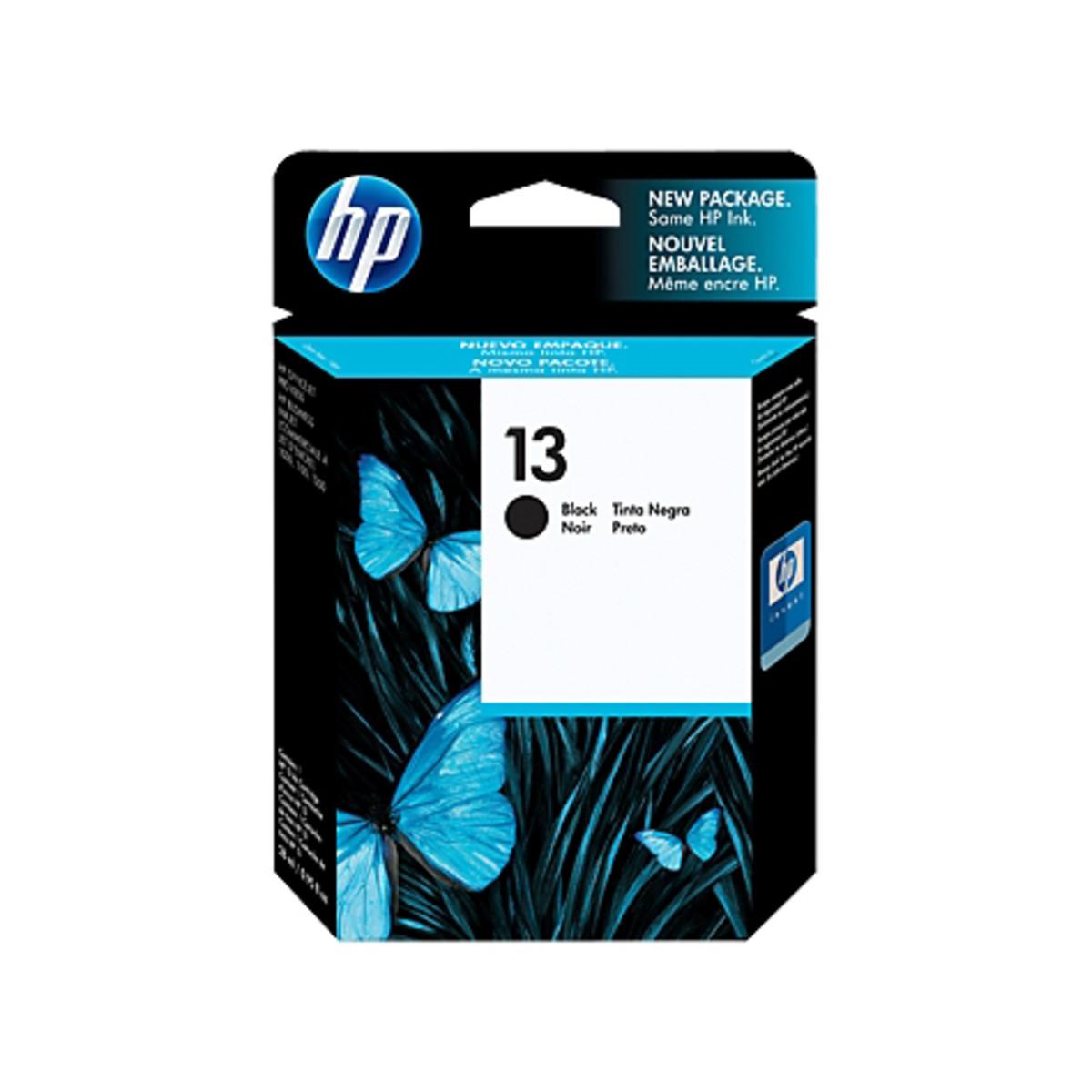 HP 13 (C4814A) Black Ink Cartridge