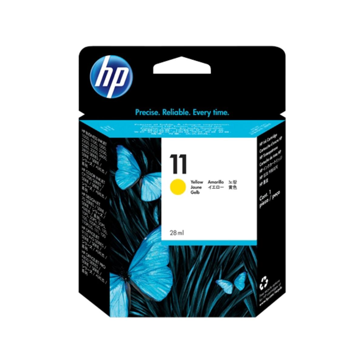 HP 11 (C4838AA) Yellow Ink Cartridge