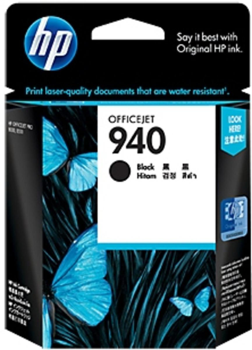 HP 940 (C4904AA) Black Ink Cartridge