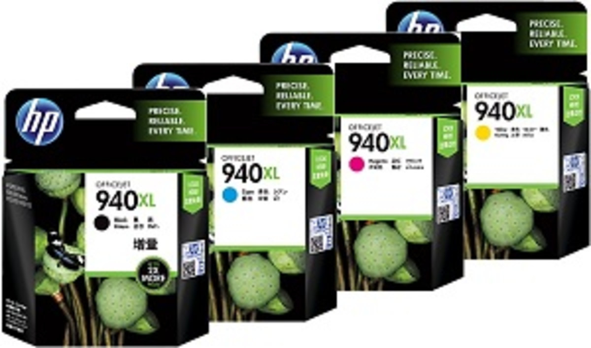 HP 940XL High Yield Bundle Pack