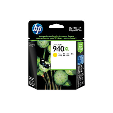 HP 940XL (C4909AA) Yellow Ink Cartridge - High Yield