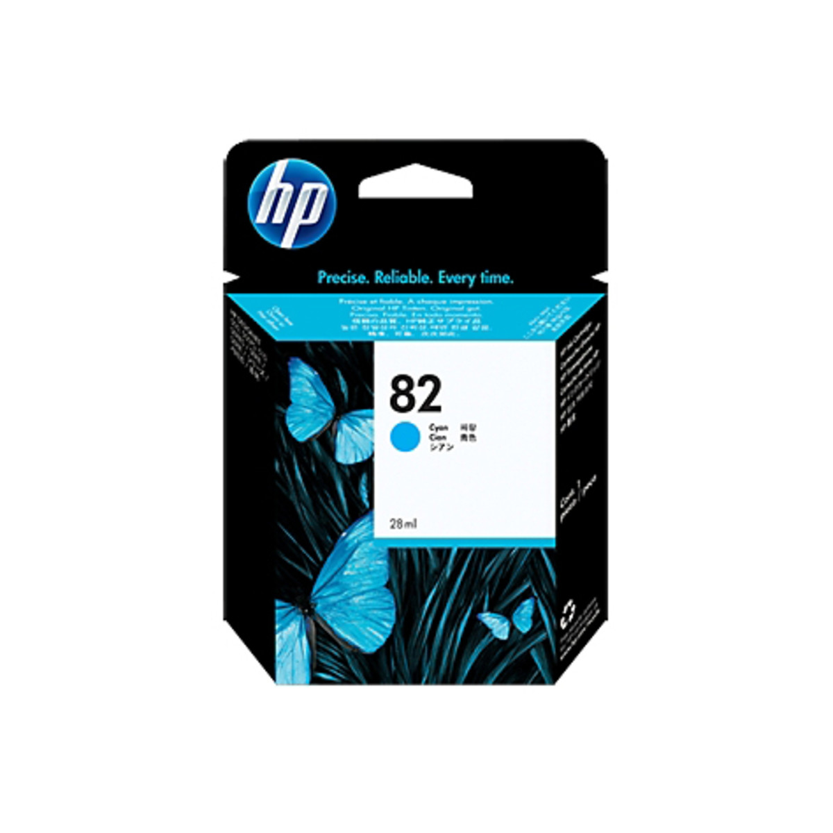 HP 82 (C4911A) Cyan Ink Cartridge
