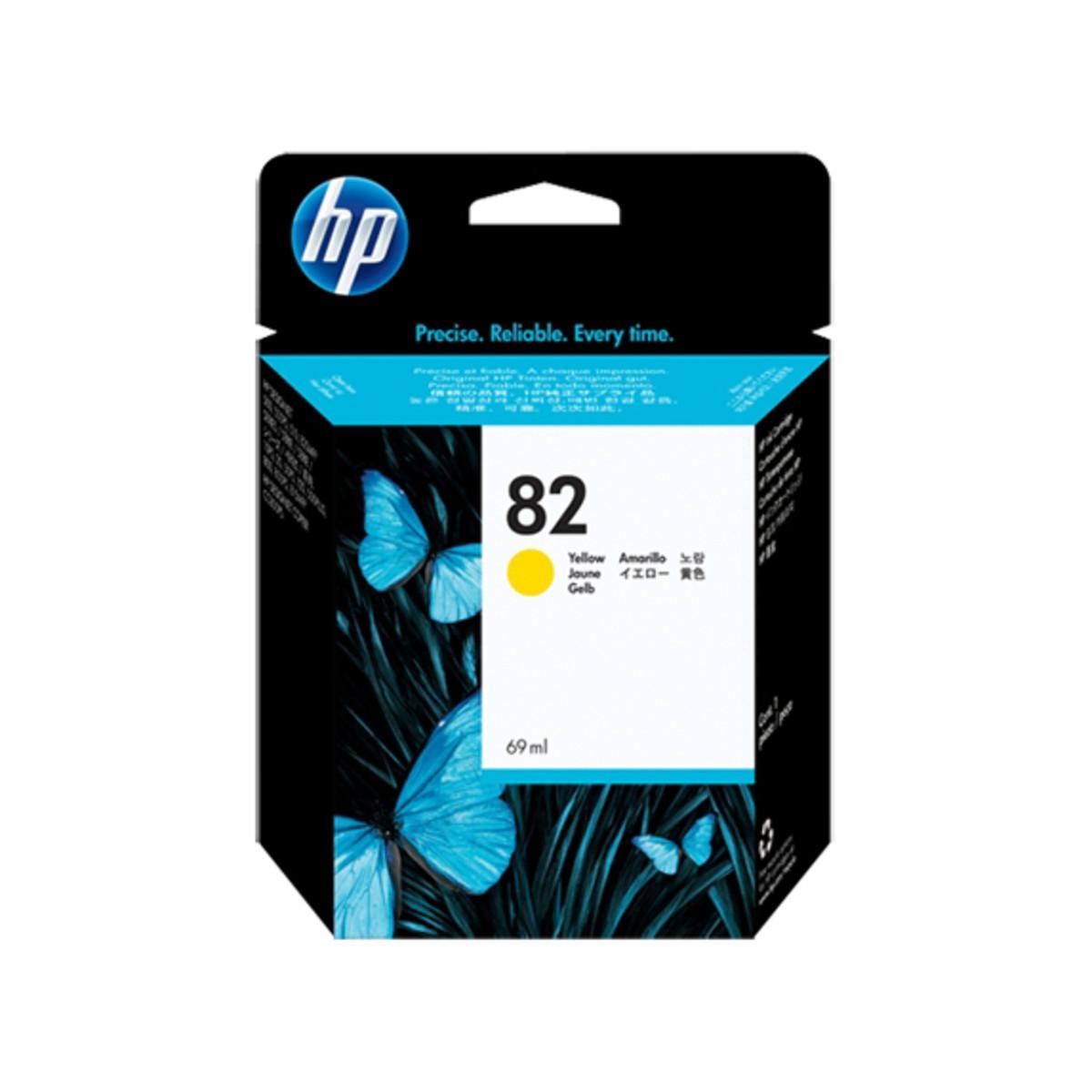 HP 82 (C4913A) Yellow Ink Cartridge