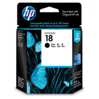 HP 18 (C4936A) Black Ink Cartridge
