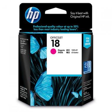 HP 18 Magenta Ink Cartridge (Original)
