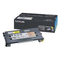Lexmark C500H2YG Yellow Toner Cartridge - High Yield