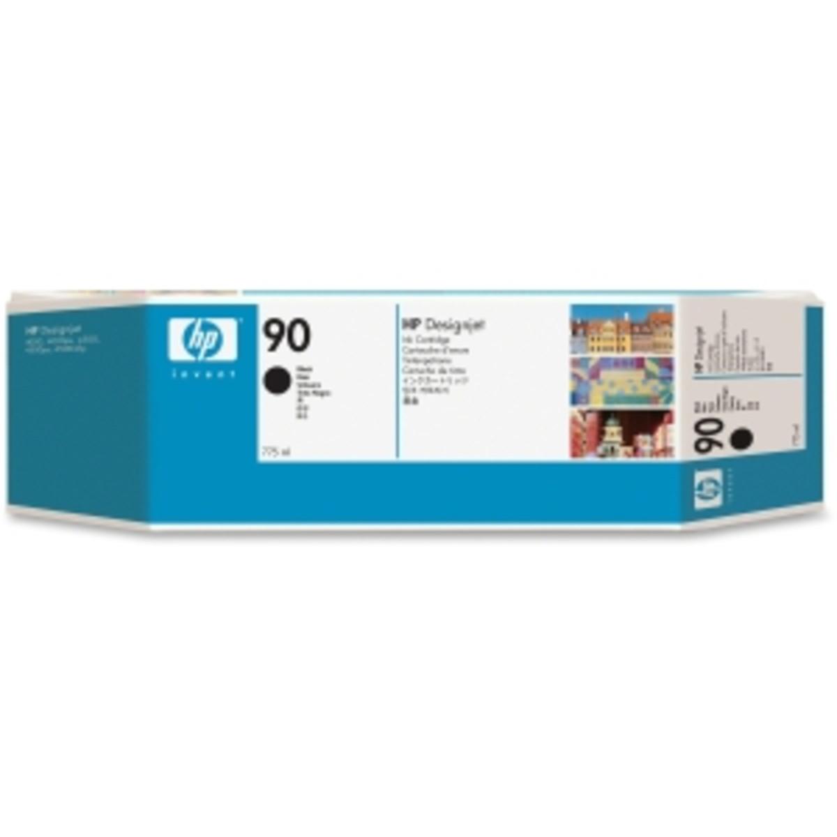 HP 90 (C5058A) Black Ink Cartridge