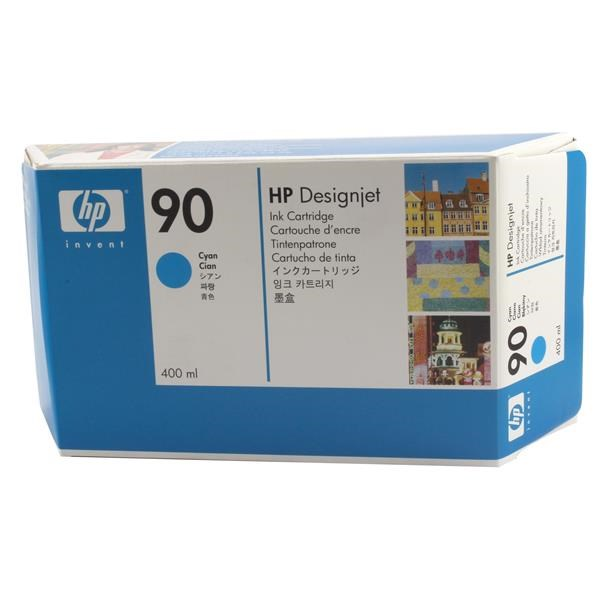 HP 90 Cyan Ink Cartridge (Original)