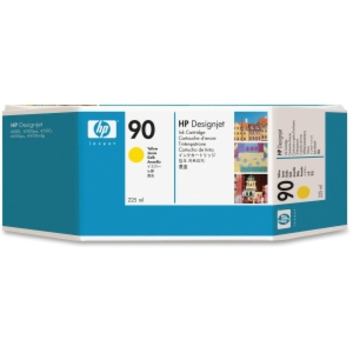 HP 90 (C5064A) Yellow Ink Cartridge