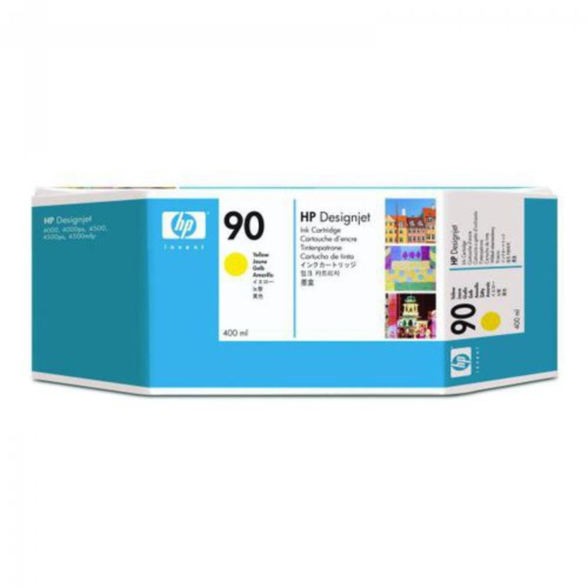 HP 90 (C5065A) Yellow Ink Cartridge
