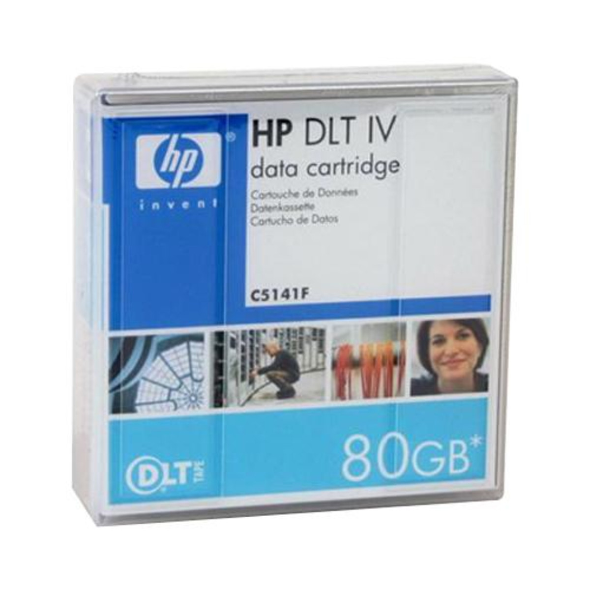 HP CLTtape IV 40/70/80GB Data Cartridge (C5141F)