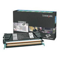 Lexmark C5220KS Black Prebate Toner Cartridge