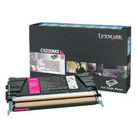 Lexmark C5220MS Magenta Prebate Toner Cartridge