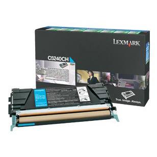 Lexmark C5240 Cyan Toner Cartridge (Original)