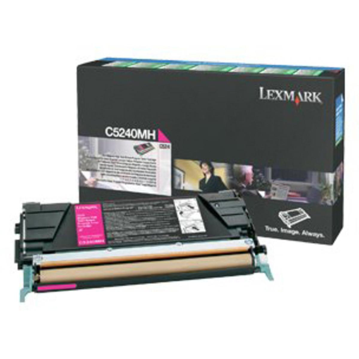 Lexmark C5240MH Magenta Toner Cartridge
