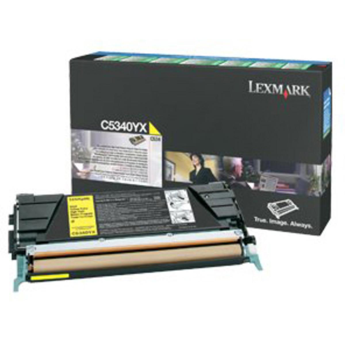Lexmark C534DN Yellow Toner Cartridge - High Yield
