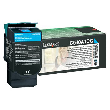 Lexmark C540 Cyan Toner Cartridge (Original)