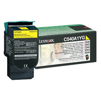 Lexmark C540A1YG Yellow Prebate Toner Cartridge