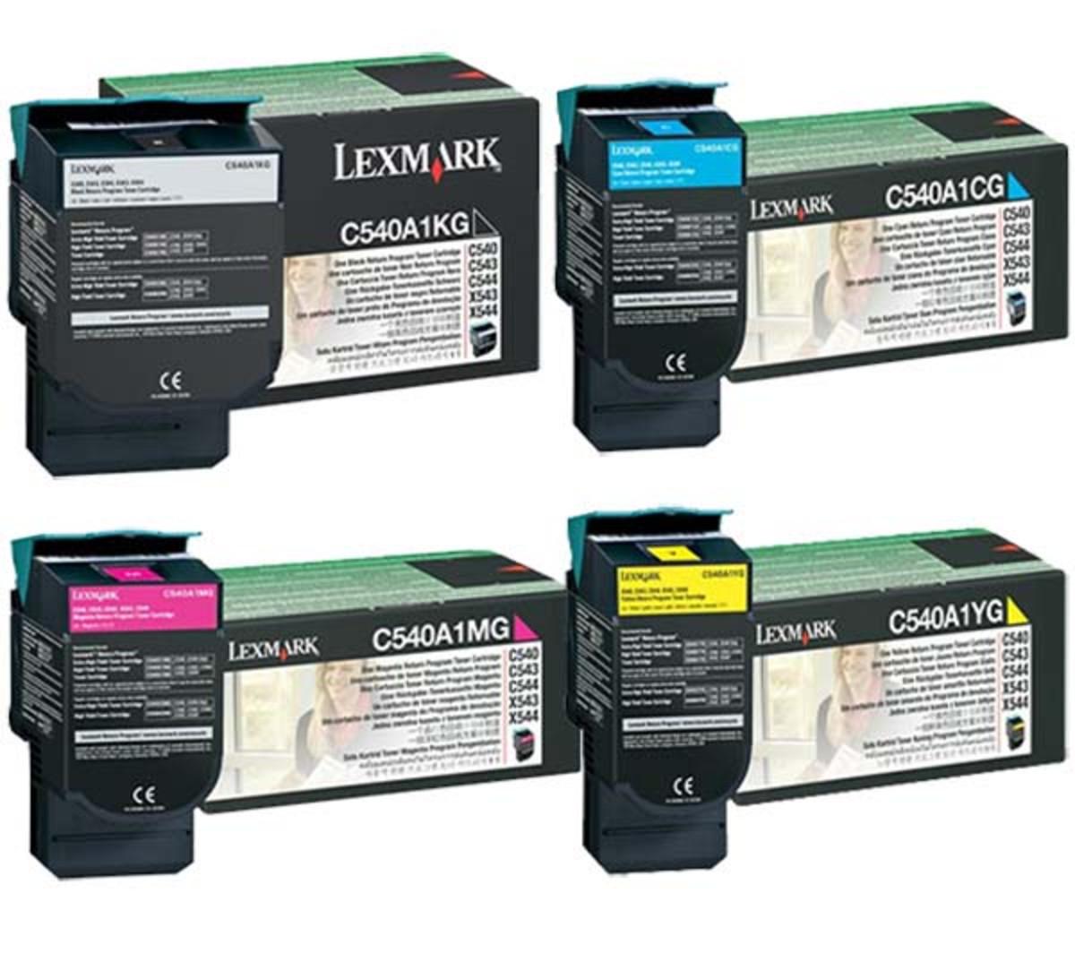 Lexmark C540H High Yield Bundle Pack