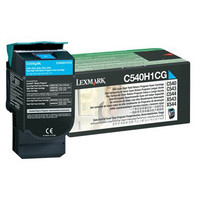 Lexmark C540H1CG Cyan Toner Cartridge - High Yield