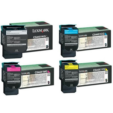 Lexmark C544 High Yield Bundle Pack