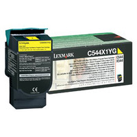 Lexmark C544X1YG XHY Yellow Rebate Toner Cartridge - High Yield