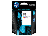 HP 78 (C6578DA) Colour Ink Cartridge