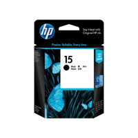 HP 15 (C6615DA) Black Ink Cartridge