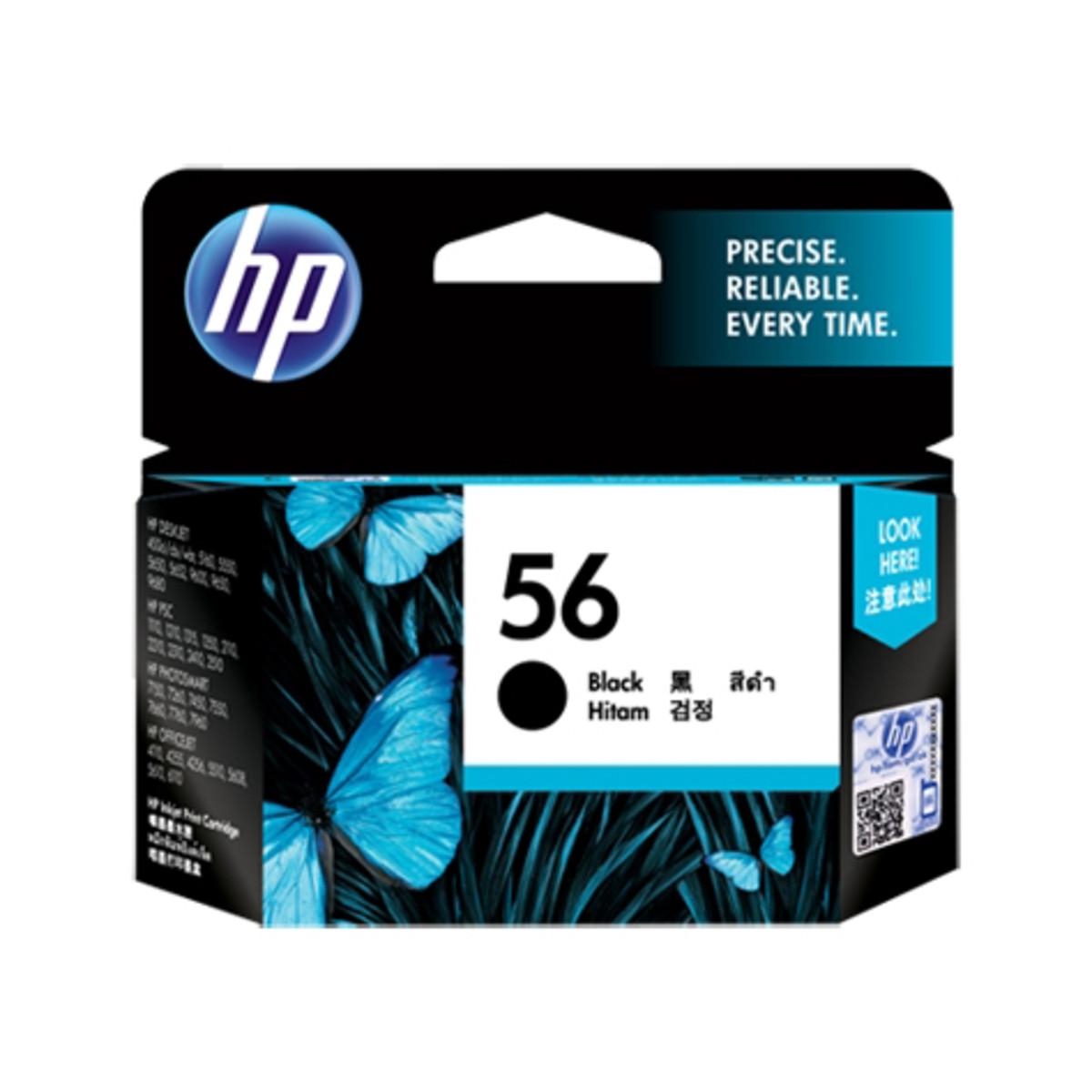 HP 56 (C6656AA) Black Ink Cartridge