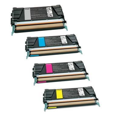 Lexmark C736 High Yield Bundle Pack