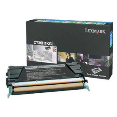 Lexmark C736 Black Toner Cartridge (Original)