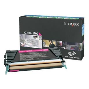 Lexmark C736 Magenta Toner Cartridge (Original)