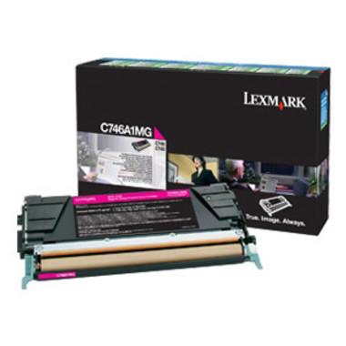 Lexmark C746 Magenta Toner Cartridge (Original)