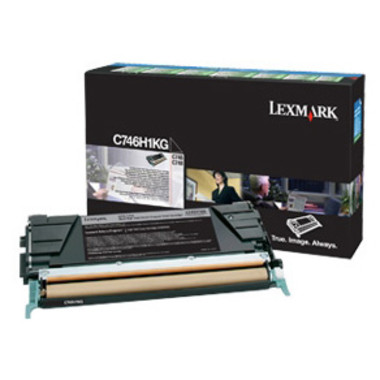 Lexmark C746H1KG Black Toner Cartridge