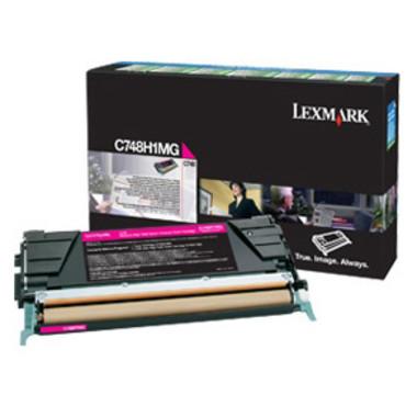 Lexmark C748H1MG Magenta Toner Cartridge