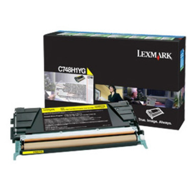 Lexmark C748H1YG Yellow Toner Cartridge