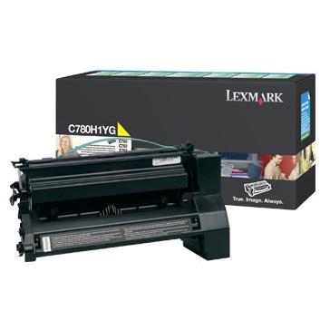 Lexmark C780 Yellow Toner Cartridge (Original)