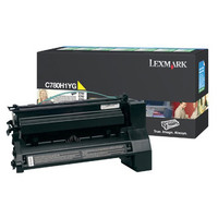 Lexmark C780H1YG Yellow Toner Cartridge- High Yield