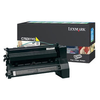 Lexmark C782X1YG Yellow Toner Cartridge- High Yield