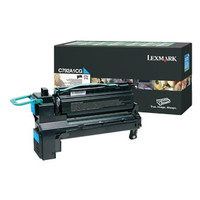Lexmark C792 Cyan Toner Cartridge (Original)