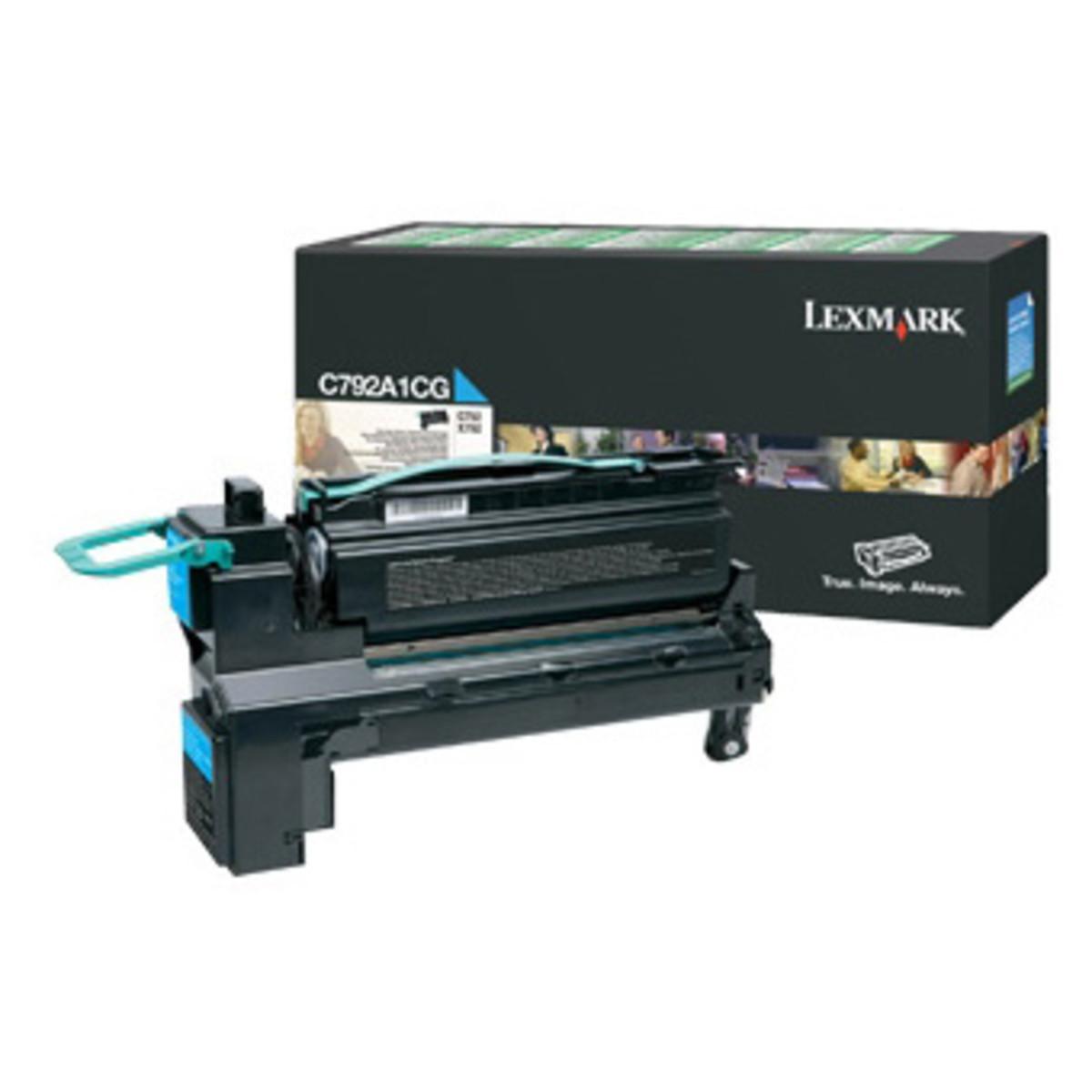 Lexmark C792A1CG Cyan Toner Cartridge