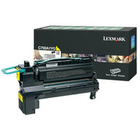 Lexmark C792A1YG Yellow Toner Cartridge
